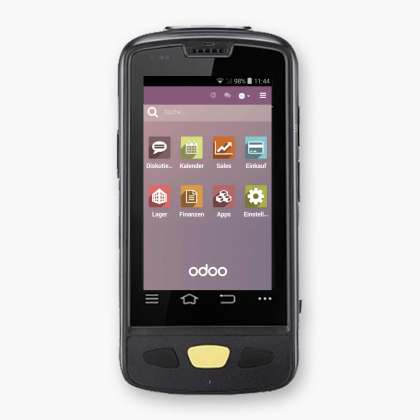 Odoo Mobile App, Menu