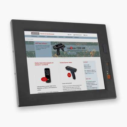 Industrie PC  WebTerm-1000 PC mit Linux Betriebssystem