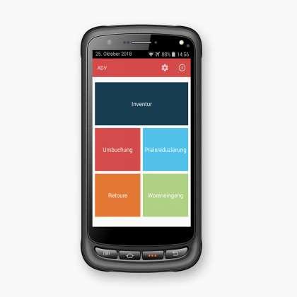 Android MDE-Gerät LogiScan-1700/Advarics