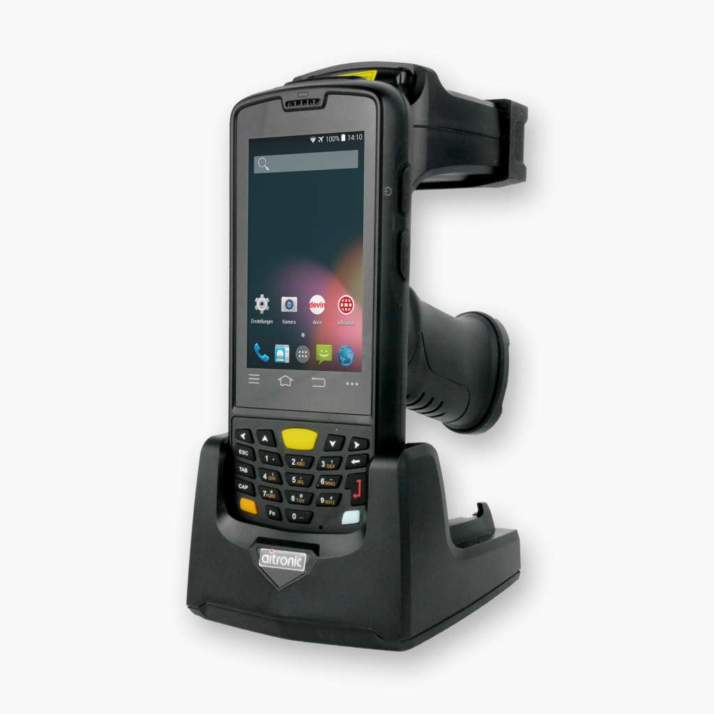 Android 5 1 UHF RFID Handhled with Barcode Reader and GPS