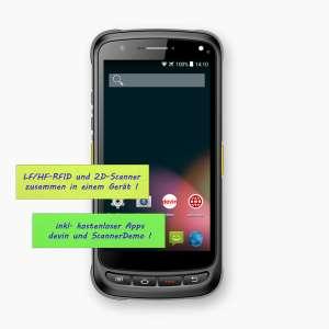 Android 8.1 MDE Gerät mit LF/HF RFID und NFC