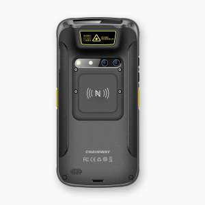 Handheld LogiScan-1710, back