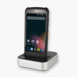 Android Handheld LogiScan-1700/Advarics in Cradle