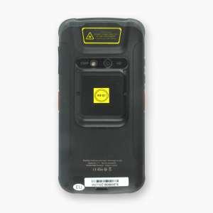 Mobiles Datenerfassungsgerät LogiScan-1710 LF/HF, Rückseite