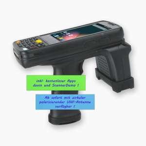 Android MDE Gerät mit UHF