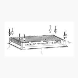 Industrie PC WebTerm-1000, Suspended Installation