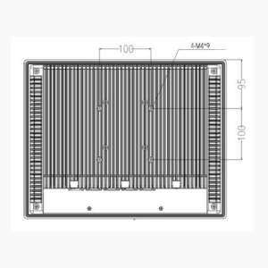 Industrie PC WebTerm-1000, VESA Installation
