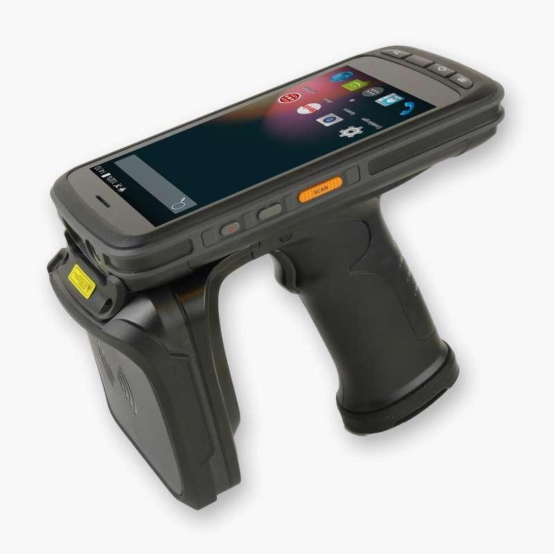 Android MDE-Gerät LogiScan-1720 UHF, perspektivisch